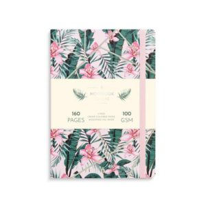 Notatbok BURDE Deluxe A5 pink jungle