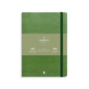 Notatbok BURDE Deluxe A5 grønn