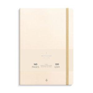 Notatbok BURDE Deluxe B5 beige