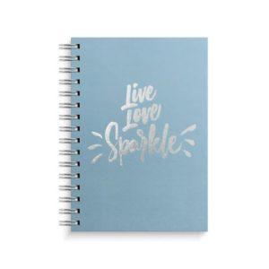Spiralbok BURDE A5 linjer 150s Live Lov