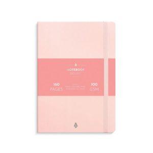 Notatbok BURDE Deluxe A5 rosa