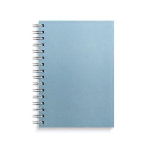Spiralbok BURDE A5 linjer 150s blå