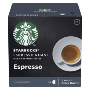 Kaffekapsel STARBUCKS Espresso Dark (12