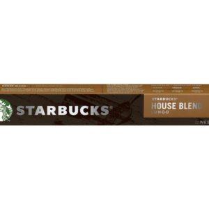 Kaffekapsel STARBUCKS House Blend (10)