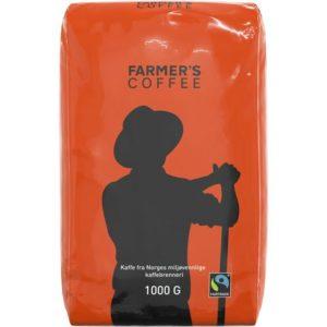 Kaffe FARMERS Fairtrade automatmalt1000