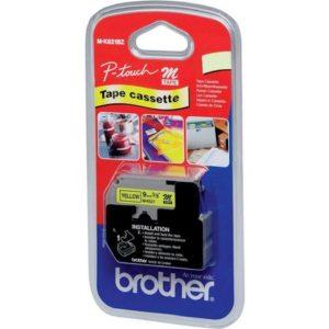 Tape BROTHER MK-221BZ 9mmx8m sort/hvit
