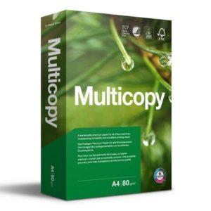 Kopipapir MULTICOPY A4 80g 4Hull (500)