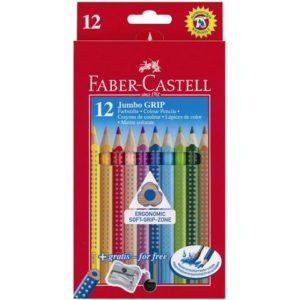 Fargeblyant FABER-CASTELL Jumbogrip (12