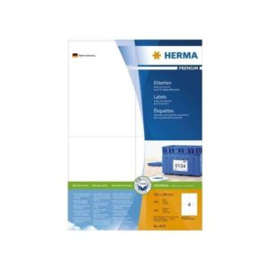 Etikett HERMA premium A4 105x148mm (400