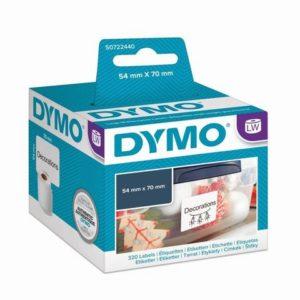 Etikett DYMO diskett 70x54mm (320)