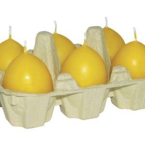 Lys DIANA eggeformet gul (6)