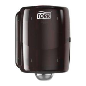 Dispenser TORK senterrull W2 rød/sort