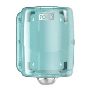 Dispenser TORK senterrull W2 hvit/turki