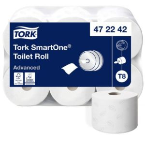 Toalettpapir TORK Smart 2L T8 207m (6)