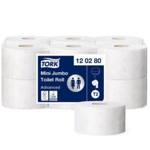 Toalettpapir TORK Advance 2L T2 170m