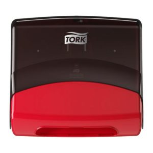 Dispenser TORK top-pack W4 rød/sort