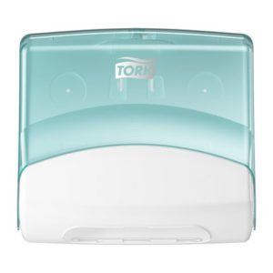 Dispenser TORK top-pack W4 hvit/turkis