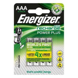 Batteri ENERGIZER PowerPlus AAA/NH12 (4