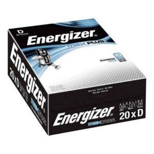 Batteri ENERGIZER Max Plus D (20)