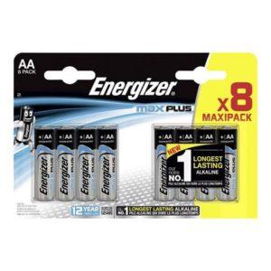 Batteri ENERGIZER Alk  Max plus AA (8)