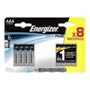 Batteri ENERGIZER Alk Max plus AAA (8)