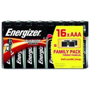 Batteri ENERGIZER Alka PowerAAA/LR03(16