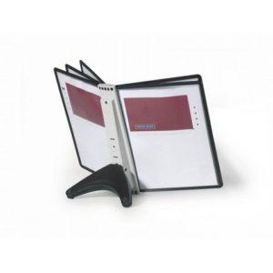 Bordstativ SHERPA® Soho A4 med 5 lommer