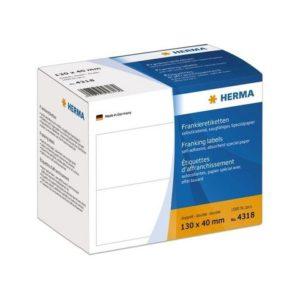 Etikett HERMA franking db 130x40 (1000)