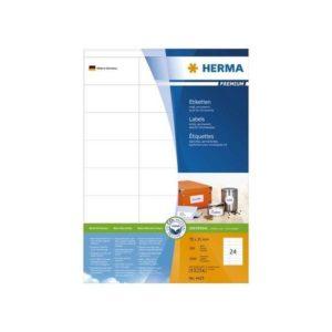 Etikett HERMA premium A4 70x35mm (2400)