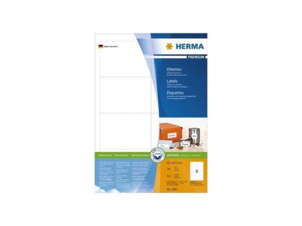 Etikett HERMA premium A4 97x67
