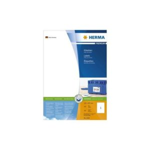 Etikett HERMA premium A4 210x297mm (100