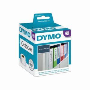 Etikett DYMO brevordner 59x190mm (110)