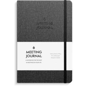 Meeting Journal BURDE A5 192S sort
