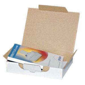 Posteske låseklaff 307x220x44mm hvit(25