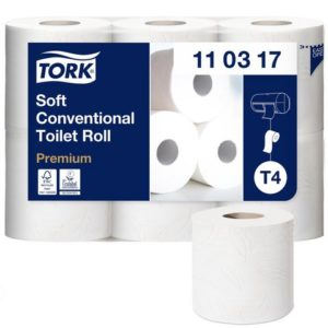 Toalettpapir TORK Premium 3L T4 35m (42