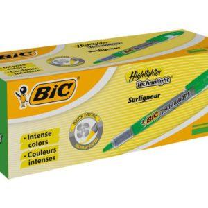 Tekstmarker BIC Technolight grøn