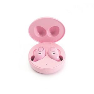 Øreplugger LEDWOOD i9 TWS mic rosa
