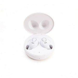 Øreplugger LEDWOOD i9 TWS mic hvit