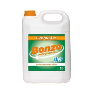 Rengjøring BONZO grønnsåpe 5L
