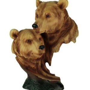 Treskulpturer