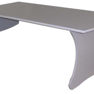 Vegghengt bord med gas 18 mm. bjørkefiner med lys grå laminat 120 liten